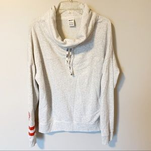 PINK | Cowl neck sweatshirt size large